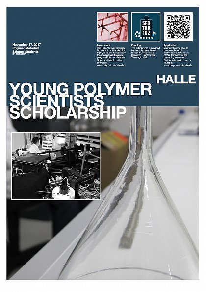Halle Young Polymer Scientists Scholarship 2017/18